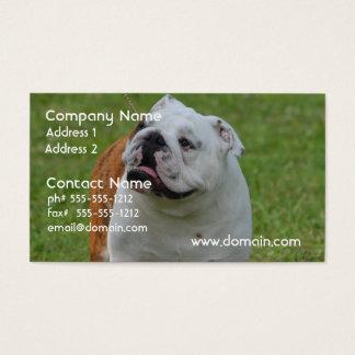 Dogo grande tarjetas de visita