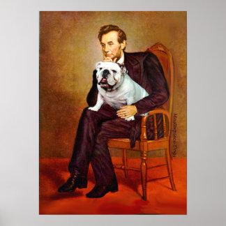 Dogo inglés 9 - Lincoln Póster