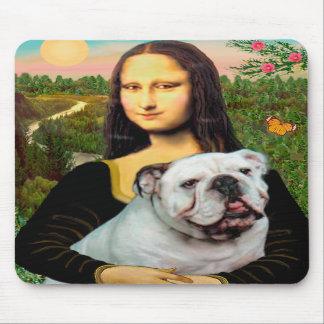 Dogo inglés 9 - Mona Lisa Alfombrilla De Ratones