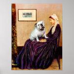 Dogo inglés 9 - Whistler' madre de s Poster
