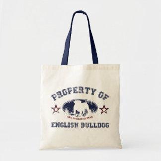 Dogo inglés bolsa