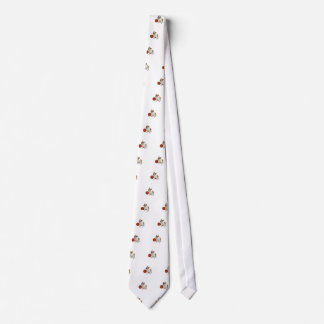 Dogo inglés con baloncesto corbatas