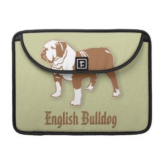 Dogo inglés fundas para macbooks