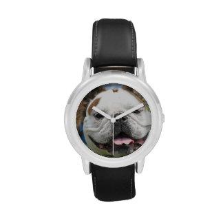 Dogo inglés relojes de pulsera