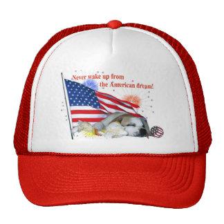Dogo inglés - sueño americano gorro de camionero