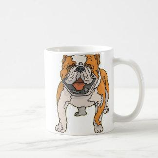 Dogo inglés taza básica blanca