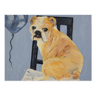 Dogo Madeline Tarjeta Postal