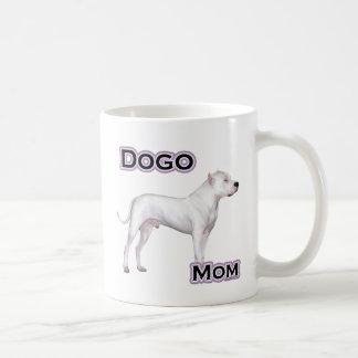 Dogo Mom 4 Classic White Coffee Mug