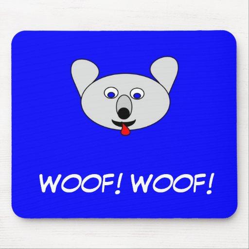 Dogo Mousepad del dibujo animado