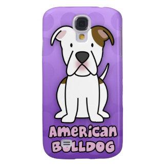 Dogo púrpura del americano del dibujo animado carcasa para galaxy s4