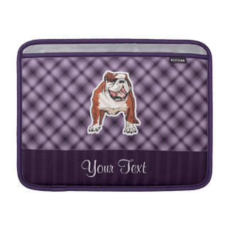 Dogo púrpura funda para macbook air