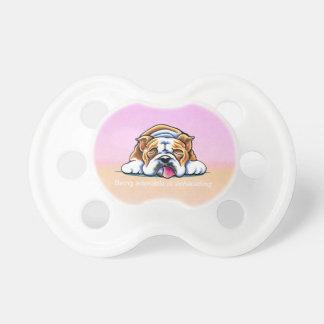 Dogo que es Apagado-Correo rosado adorable Art™ Chupetes