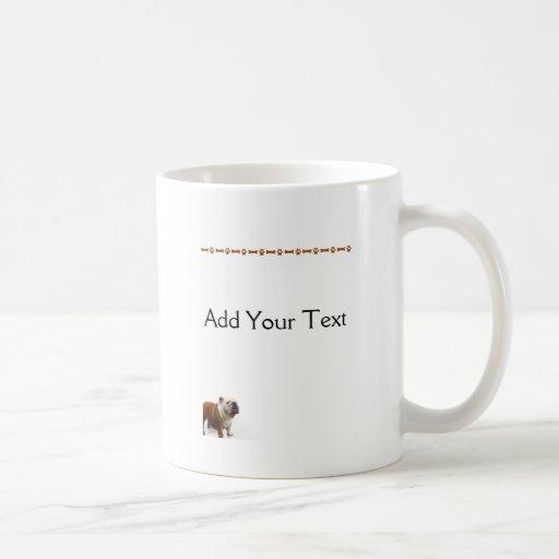 Dogo sonriente taza