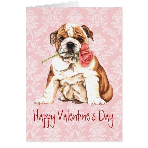 Dogo subió tarjeta del día de San Valentín