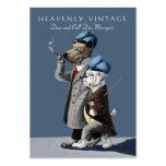 Dogo y great dane - vintage divertido tarjetas de visita