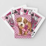 Dogo y zapato ingleses baraja cartas de poker