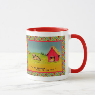 Dogon glad mug