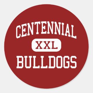 - Dogos - alto centenario - pueblo Colorado Etiquetas Redondas