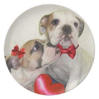 Dogos del amor platos para fiestas