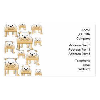 Dogos del cervatillo tarjetas de visita
