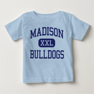 Dogos Hollywood del norte medio de Madison Playera De Bebé