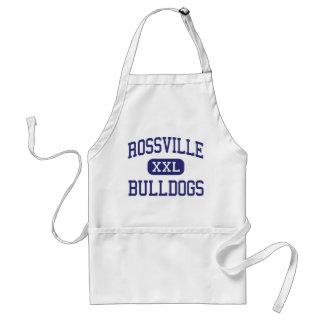 Dogos Rossville medio Georgia de Rossville Delantal