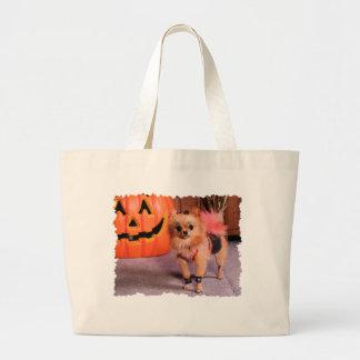 DogOWeen 2009 Cutest Dog Winner Angel - Pomeranian Bags