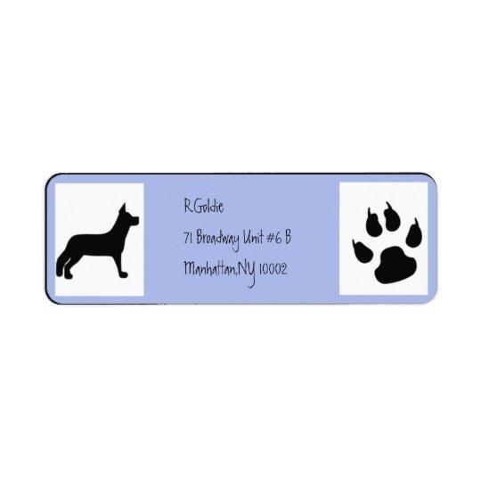 dogpaws 2 label