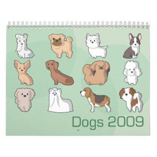 Dogs 2009 calendars