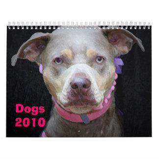 Dogs 2010 calendar
