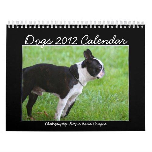 Dogs 2012 Calendar calendar