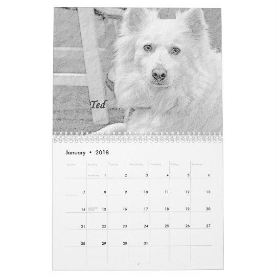 Dogs 2013 calendar