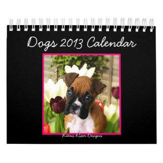 Dogs 2013 Small Calendar