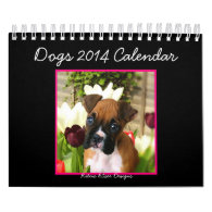 Dogs 2014 Small Calendar