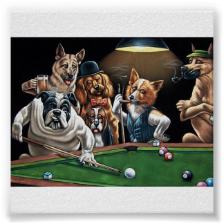 dogs%20playing%20poker22 póster