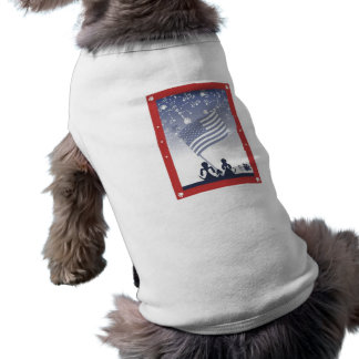 Dogs 4th of July - Pet Shirt