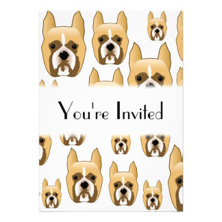 Dogs, A Pattern of Boxers. Announcements