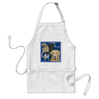 Dogs Adult Apron