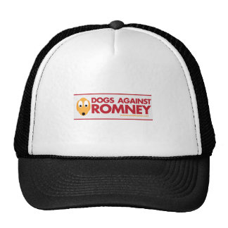 DOGS AGAINST ROMNEY HAT