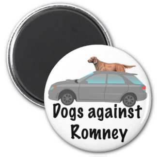 Dogs against Romney Magnet