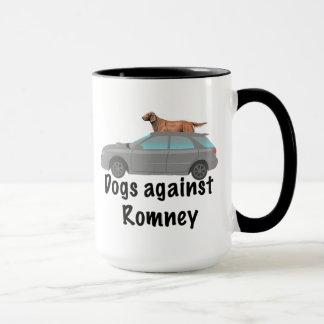 Dogs against Romney Mug