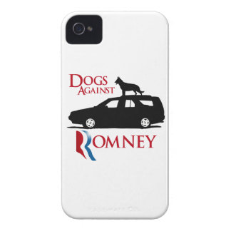 Dogs Against Romney -.png iPhone 4 Cover