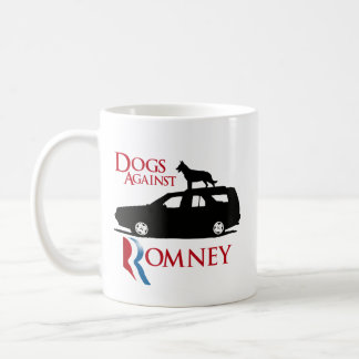 Dogs Against Romney -.png Coffee Mugs