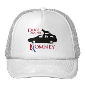 Dogs Against Romney -.png Mesh Hats