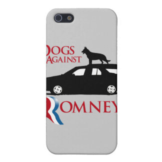 Dogs Against Romney - png iPhone 5 Cover