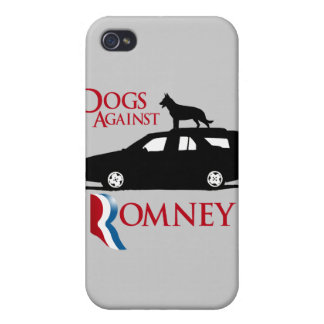 Dogs Against Romney - png iPhone 4 Covers
