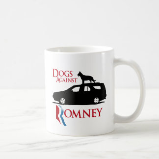 Dogs Against Romney - png Coffee Mugs