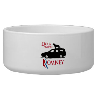 Dogs Against Romney - png Dog Bowls