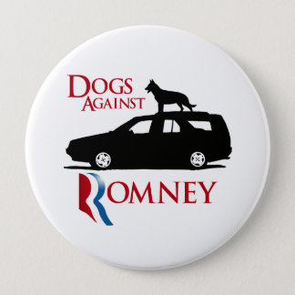 Dogs Against Romney -.png Pinback Button