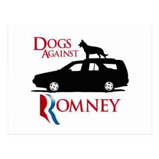 Dogs Against Romney -.png Postcard